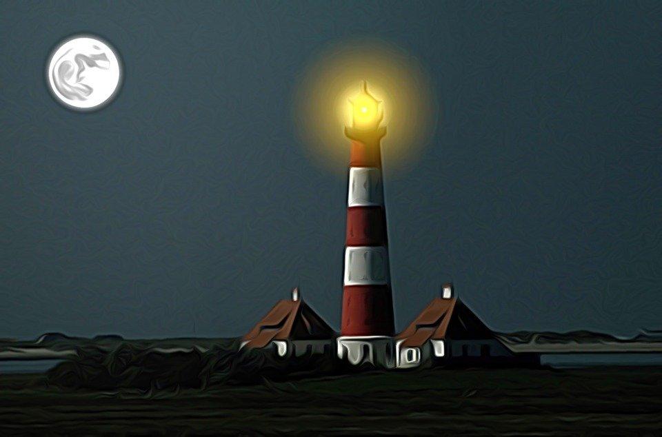Lighthouse Wester Hever Sand