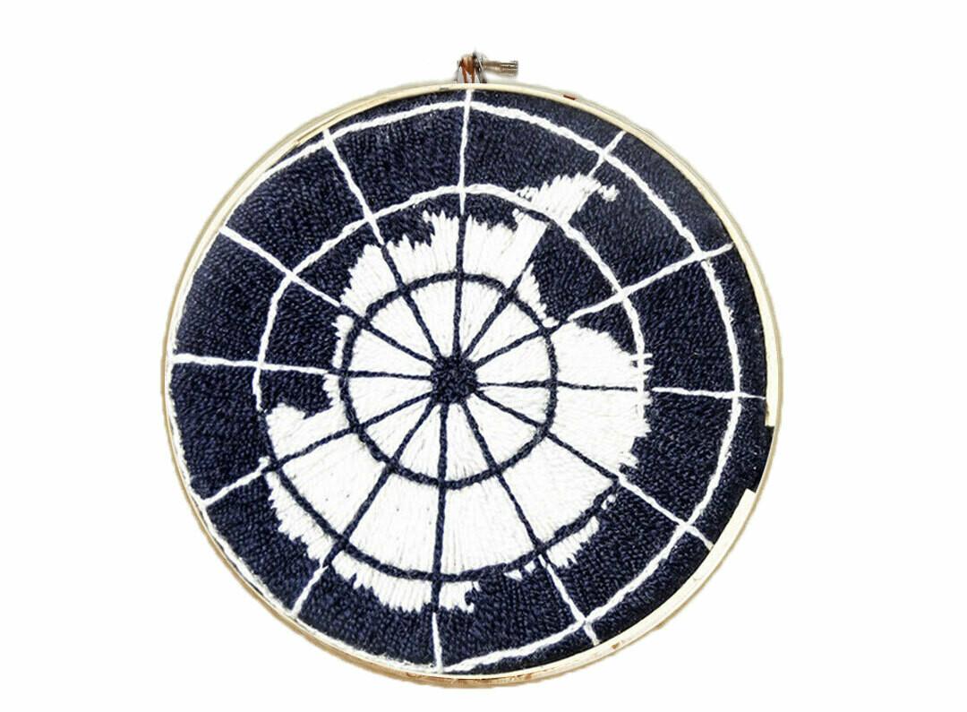 Antarctic Treaty Embroidery / Bordado Tratado Antártico