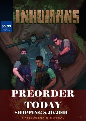 INHUMANS PREORDER LIMITED EDITION