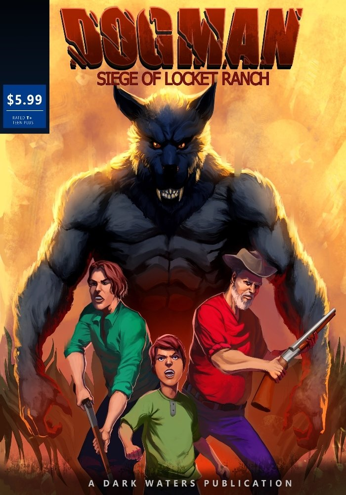 Limited Edition Siege of Lockett Ranch Comic Book Signed By Dark Waters PREORDER