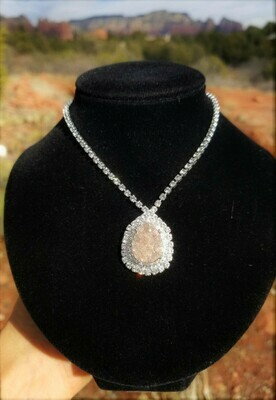 Radiant Sedona Angel Crystal Halo of Light/Star Family Angel Priestess of Light  sale 288.00/444.00