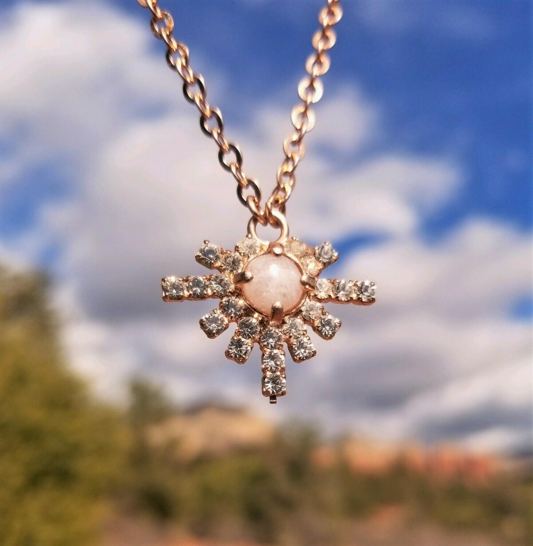 Sale $199/244.00 Gold Higher Self Star Sedona White light Crystal