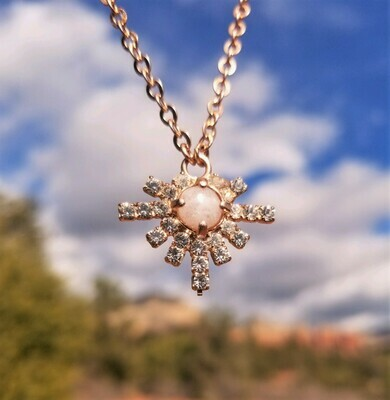 Sale $199/244.00 Gold Higher Self Star Sedona White light Crystal