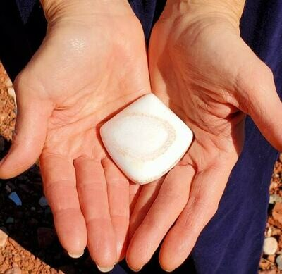 Sedona Atlantean Diamond Power of Light /Sedona White Light Crystal~ Guide Communicator & Healer Stone