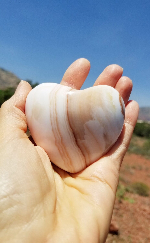 Archangel Chamuel Heart Sedona White Light Crystal/Healing Holding Heart of Mother Earth Gaia