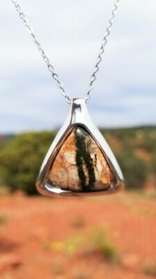 {Sedona Pyramid Ancient Earth Power} Serpentine Fairy Crystal Stone /$213/299.00