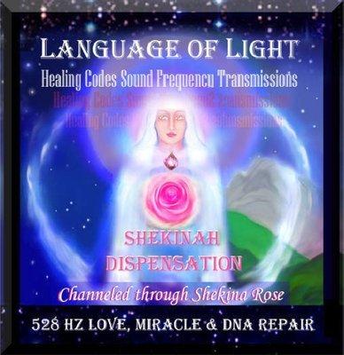 Language of light healing codes Sound Transmissions  528 Hz Transformation  {Direct Download}