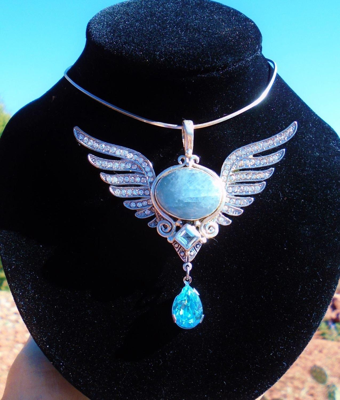 Sale $388/444.00 Beautiful Isis Priestess Wings of light  Sacred Divine feminine Archangels Language of light