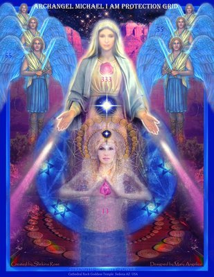 Archangel Michael I am Protection Grid ~ download activator retreat sale 11.00/15.00