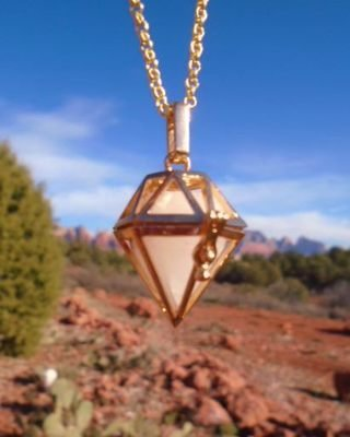 Sale $199/233.00 Gold Sedona White light Protection Ascension Crystal Power of the Vortex