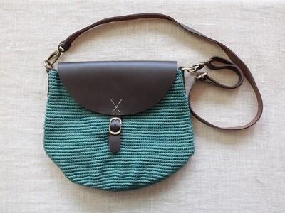 Cross Bag Large: Turquoise