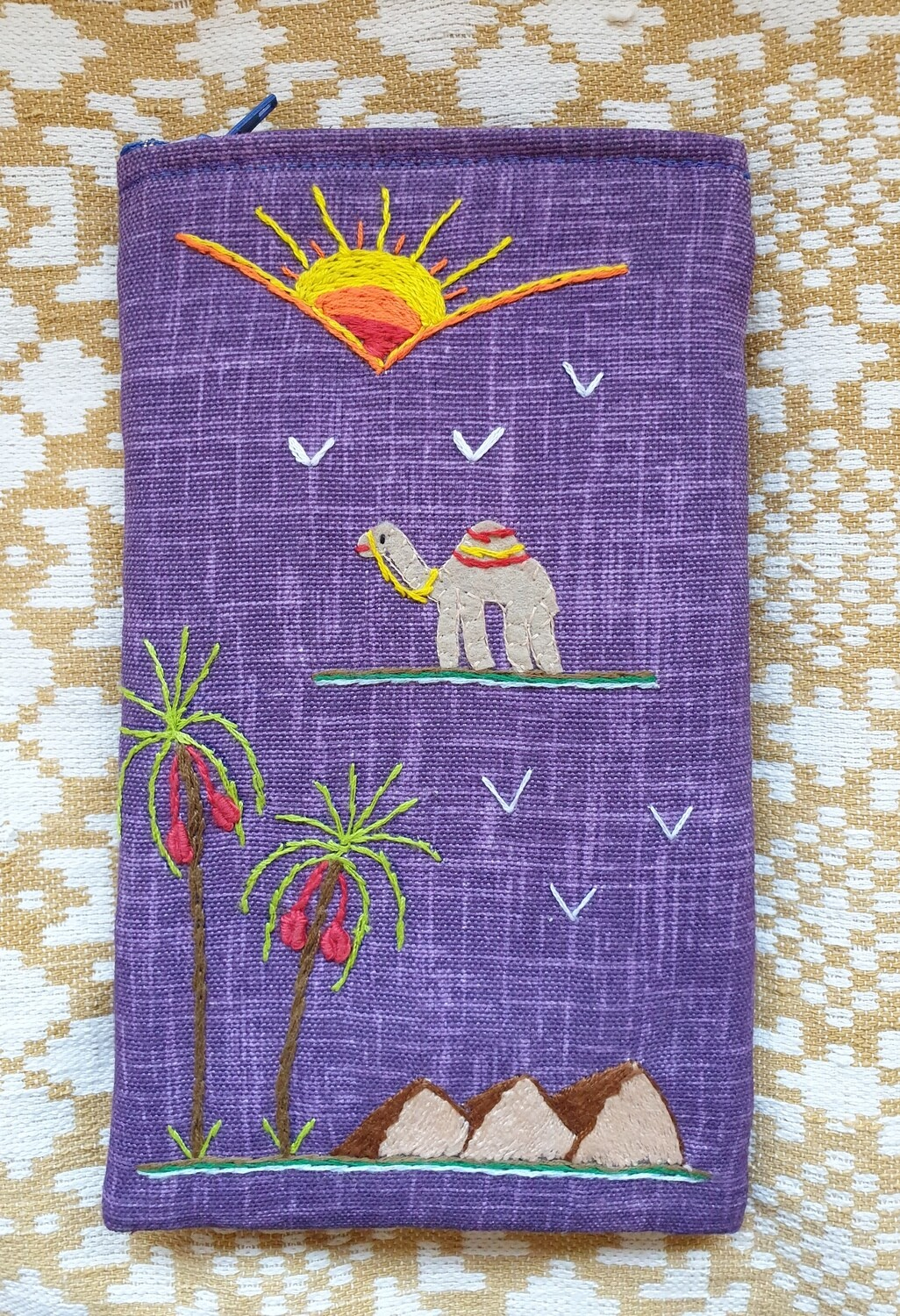 Cell Phone Pouch Purple