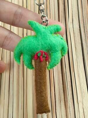 Palm Keychain Apple Green