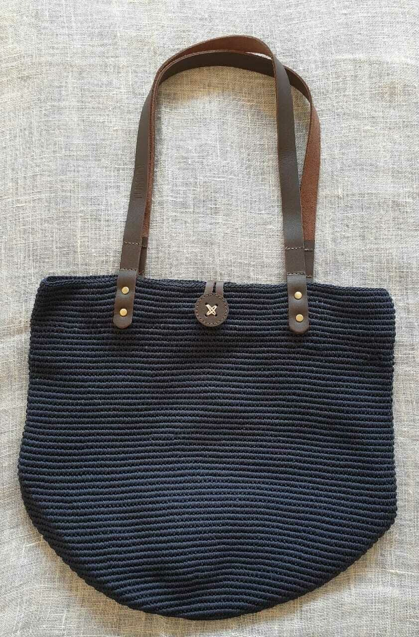Shoulder Bag: Navy