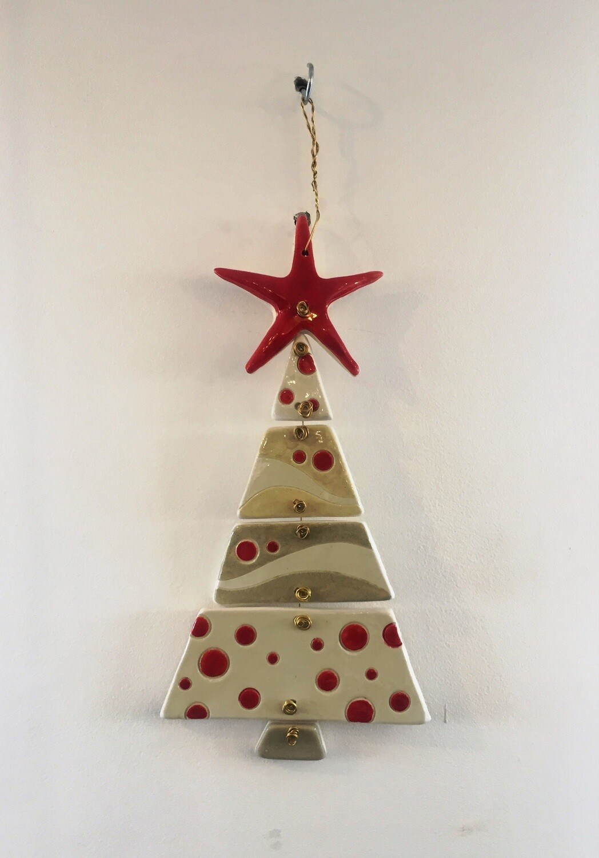 Ceramic Christmas Tree White