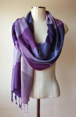 VC Purple & Lilac Shawl