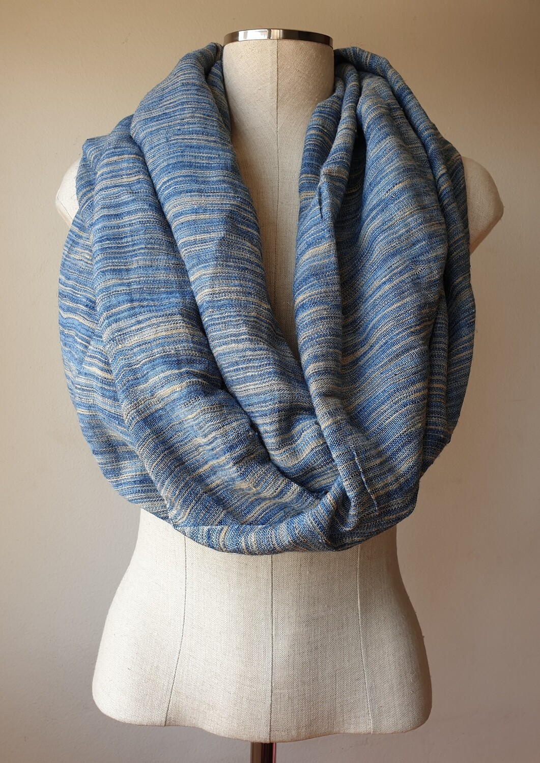 Linen Shawl: Mixed Jeans
