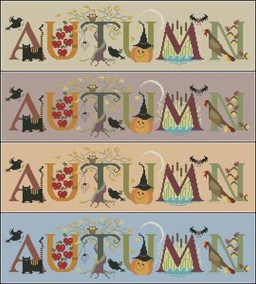 Autumn Cross Stitch Pattern PDF + XSD. Instant Download. FREE