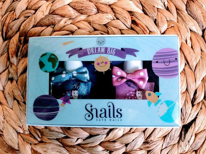 Snails Safe 'N' Beautiful Dream Big 2 Pack Nail Polish
