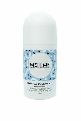 MEBEME Natural Deodorant Cool Coconut 50ml