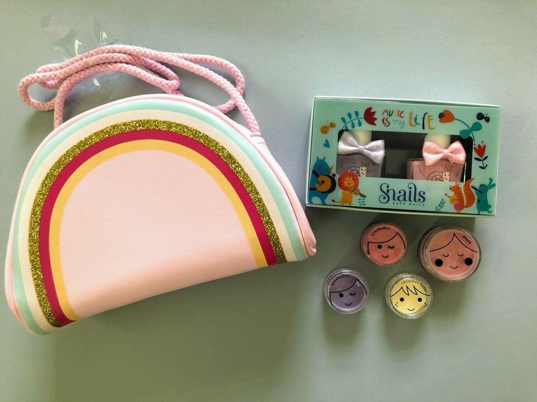 Play Makeup Gift Bag - Pink Rainbow