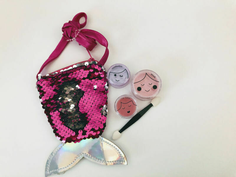 Play Makeup Gift Bag - Sequin Mermaid Tail