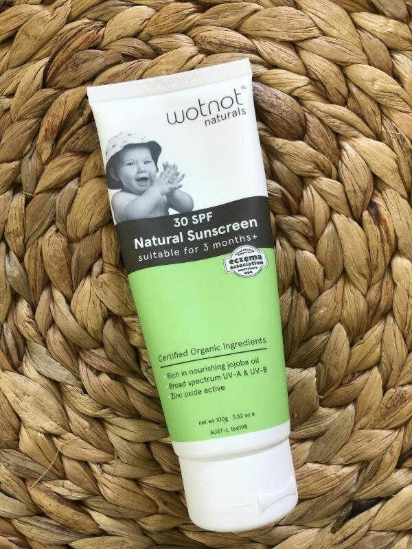 Wotnot Baby Sunscreen SPF30 100g