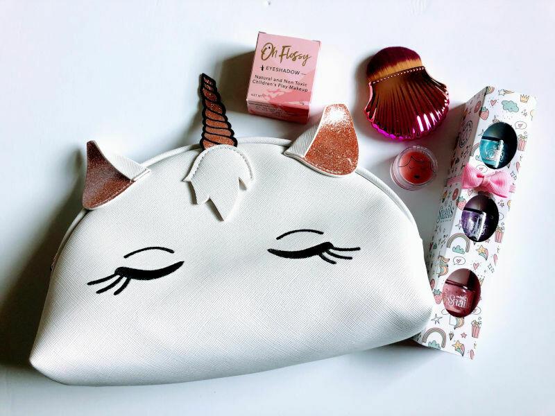Play Makeup Gift Bag - White Unicorn