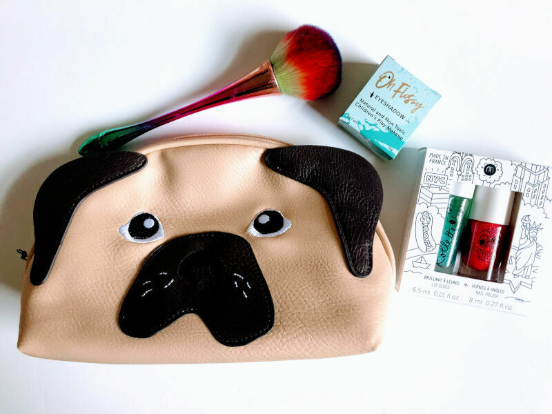Play Makeup Gift Bag - Pug