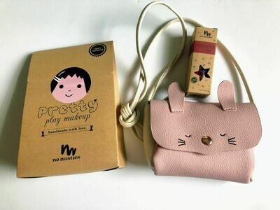 Play Makeup Gift Bag - Pink Bunny