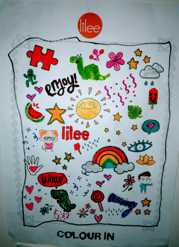 Lilee Colouring-In Sheet