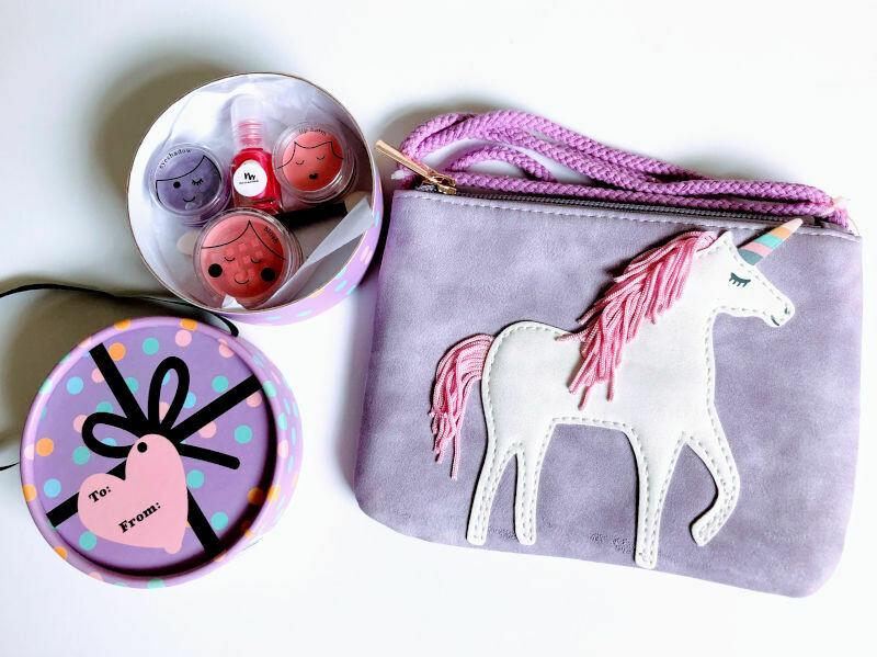 Play Makeup Gift Bag - Unicorns and Rainbows