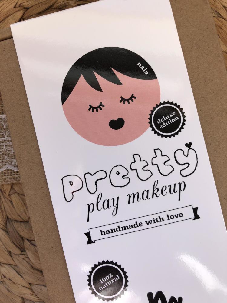 No Nasties Nala Deluxe Pretty Pink Play Makeup Box