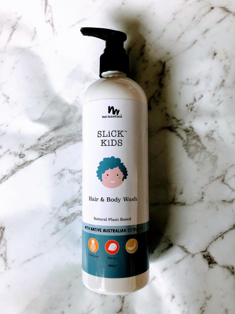 No Nasties SLiCK Kids hair and body wash