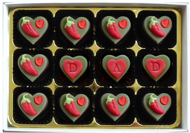 Chilli Chocolate Hearts