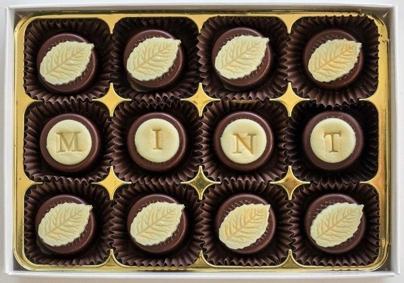 Classic Mint - fondant chocolates