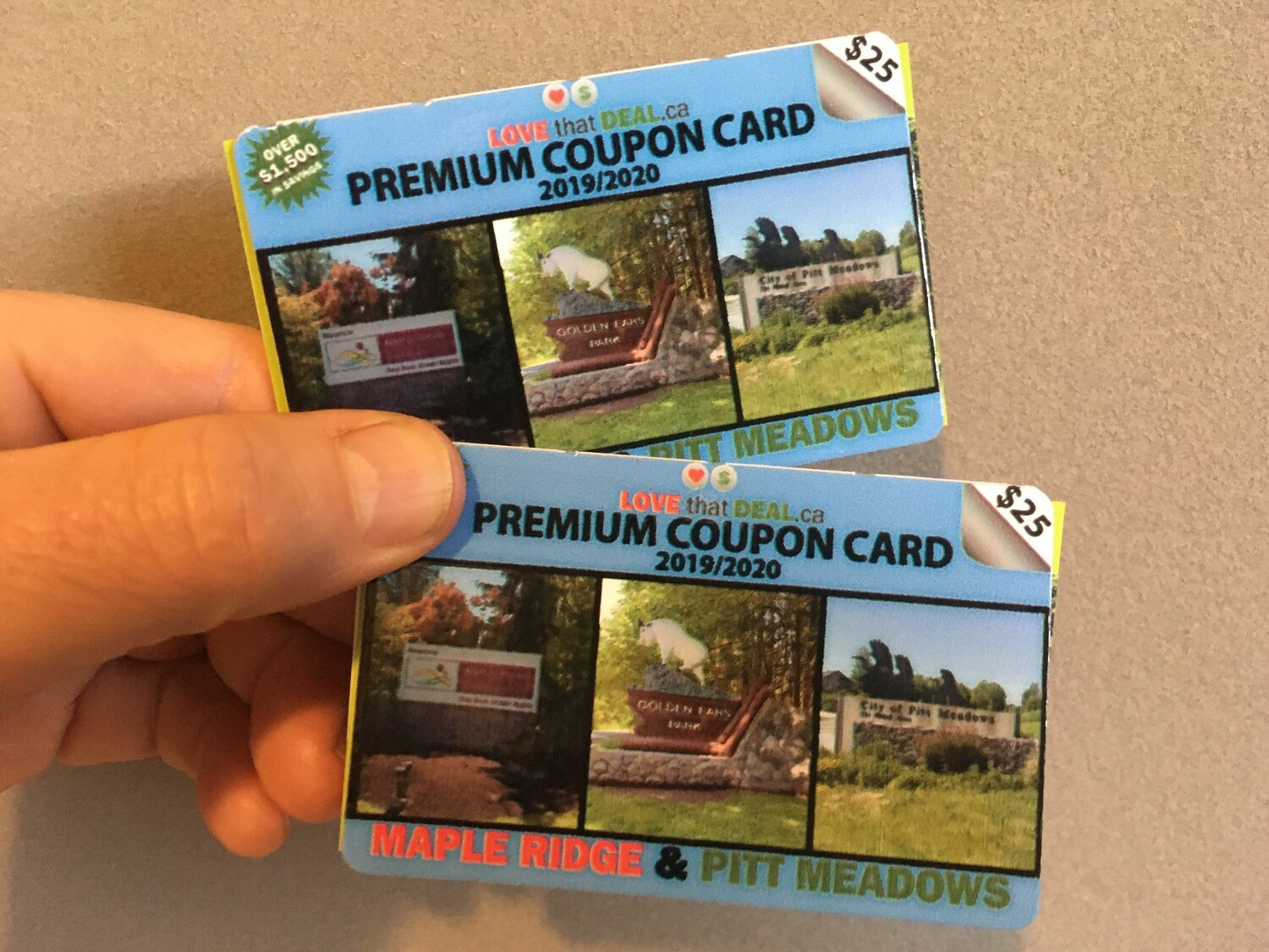 BOGO Deal - Buy One 4th Edition Premium Coupon Card and Get Second One FREE