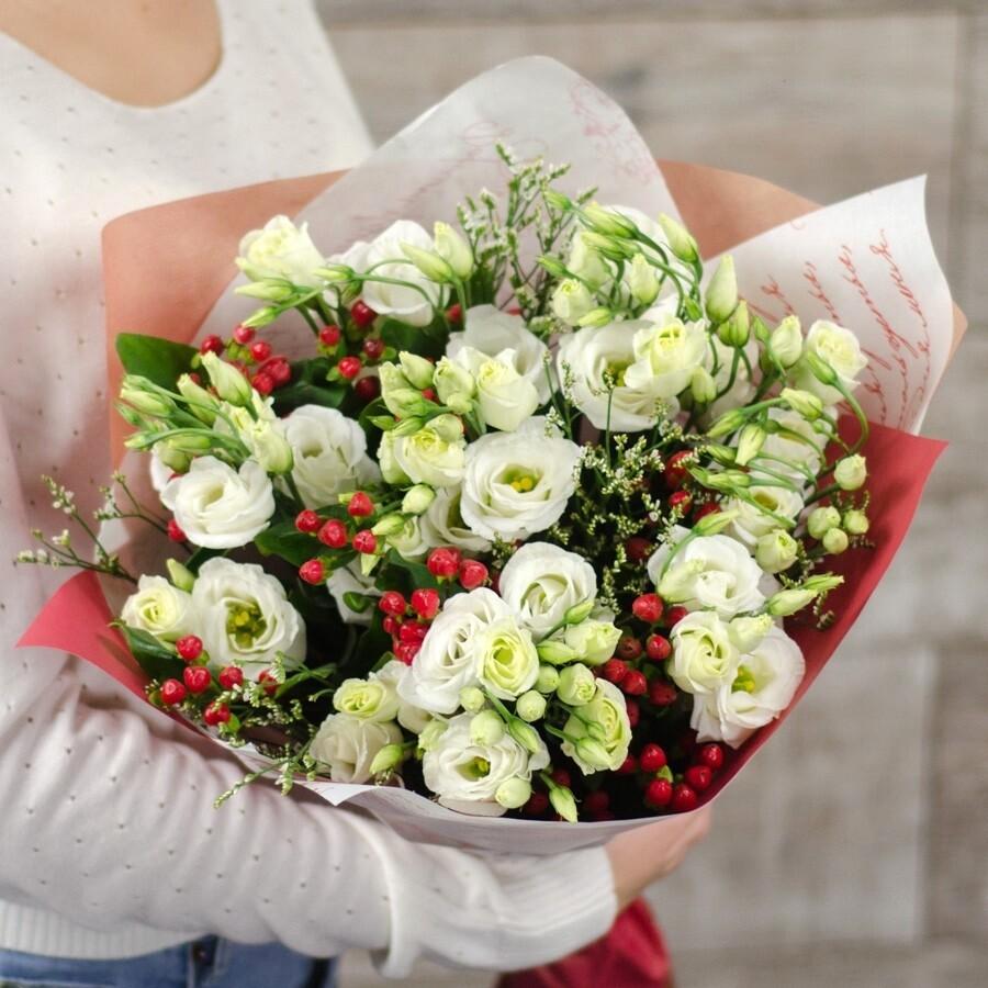 Букет из альпийской розы