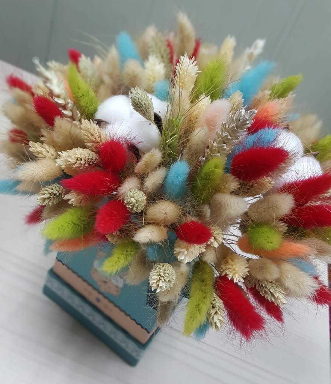 Коробочка сухоцветов