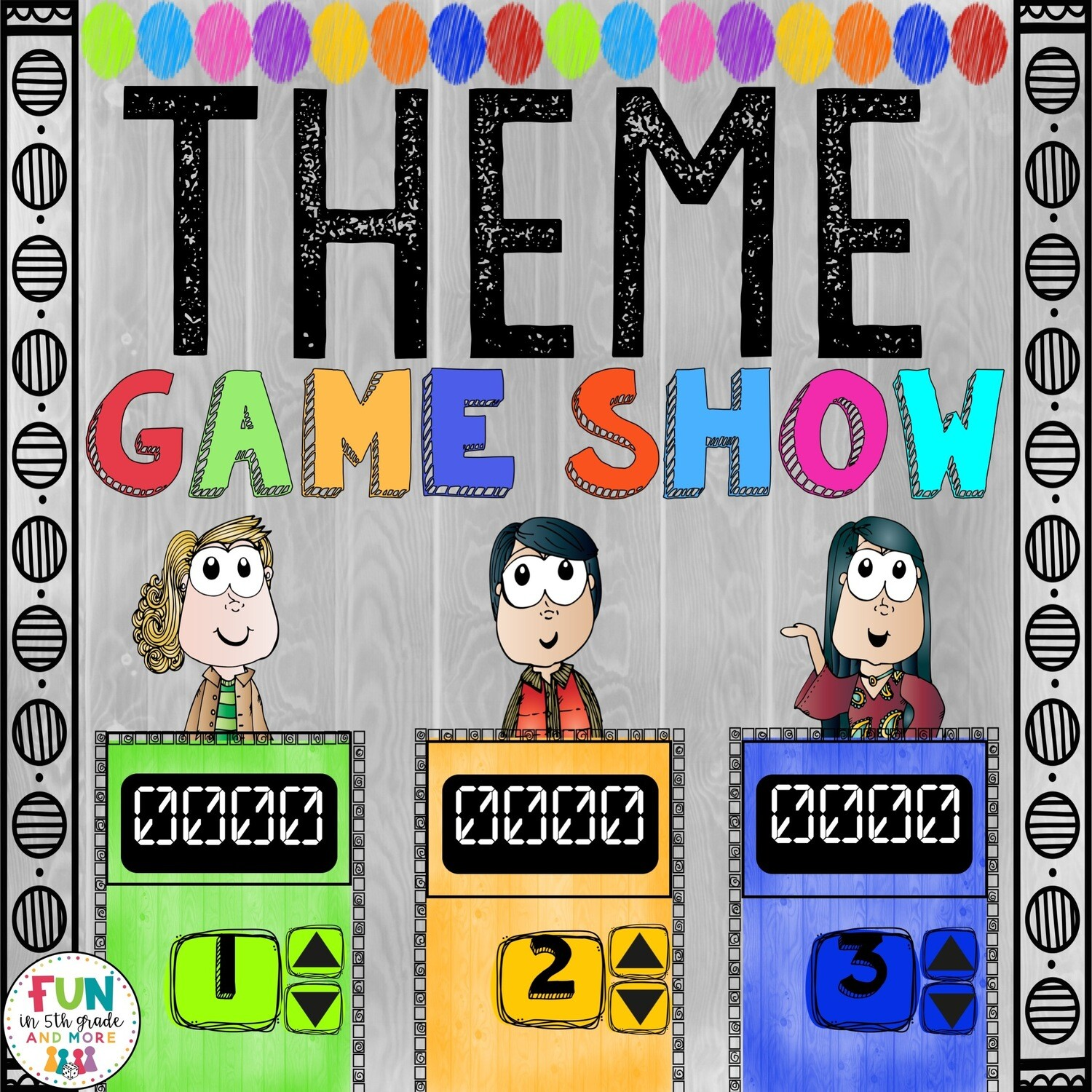 Find the Theme Game Show (PowerPoint Game)