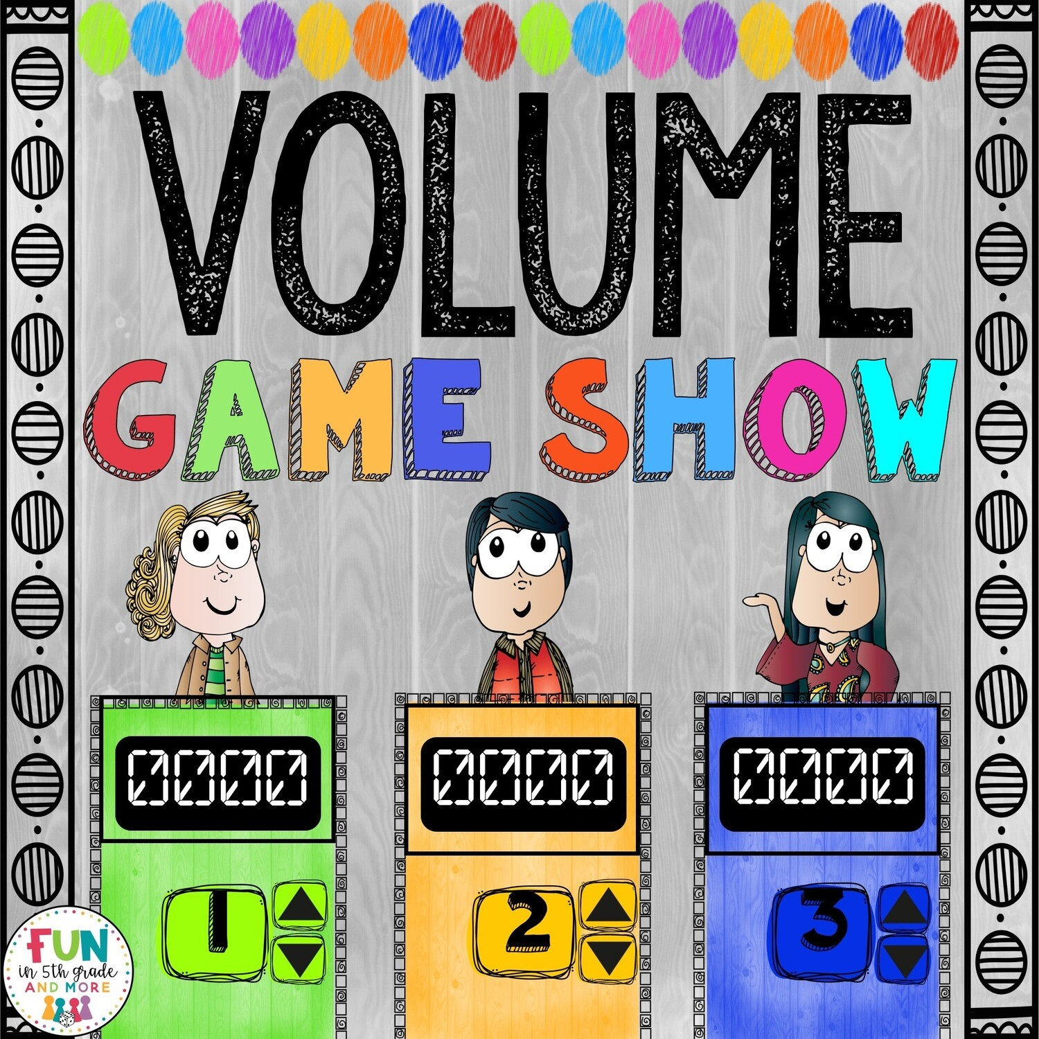 Volume Game Show: 5.MD.4/5.MD.5 (PowerPoint Game)