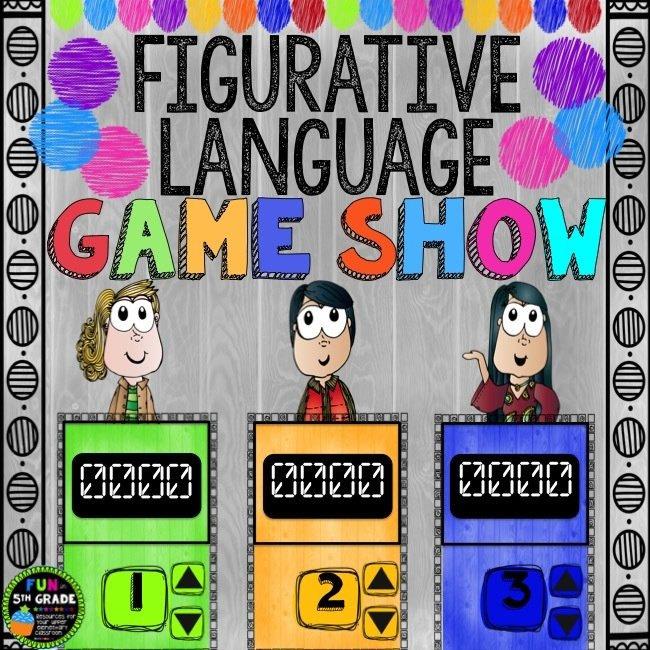 Figurative Language Game Show (PowerPoint Game)
