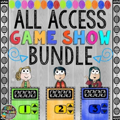 Game Show Bundle (PowerPoint Games)