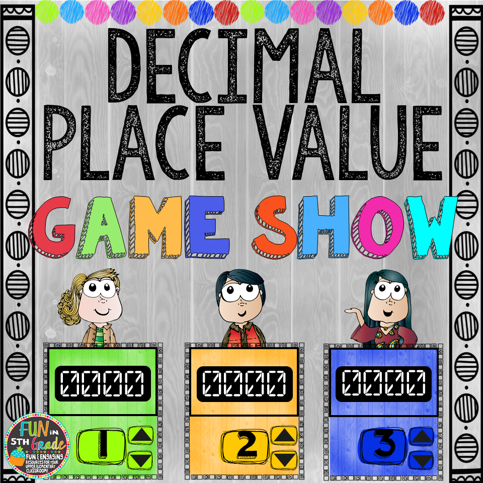 Decimal Place Value Game Show (PowerPoint Game)