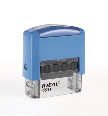 Штамп Автоматический IDEAL 4911 Размер поля 38х14 мм.