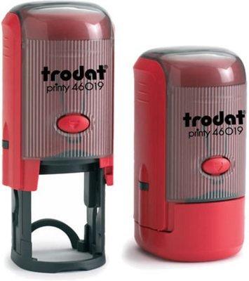 Автоматическая печать Trodat Printy 46019  (диаметр 19 мм.) с боксом