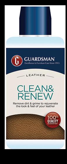 Guardsman Leather Clean & Renew Bottle