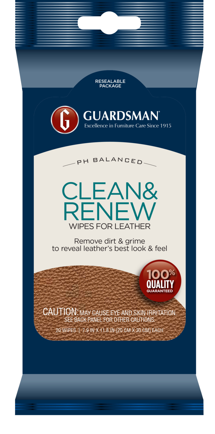 Guardsman Leather Clean & Renew Wipes