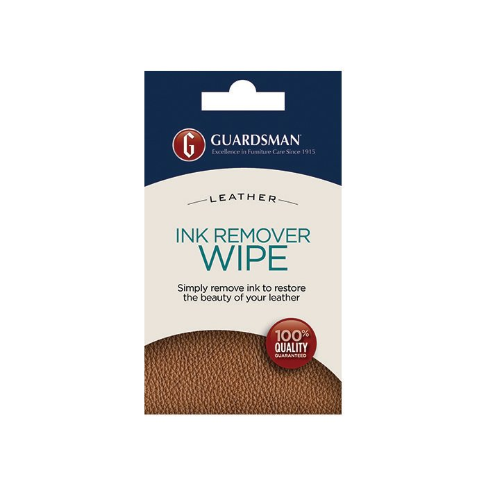 Guardsman Leather Ink Remover Wipe