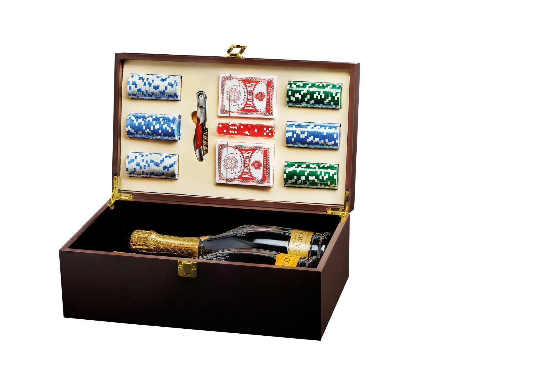 Cassetta Legno Poker 15065
